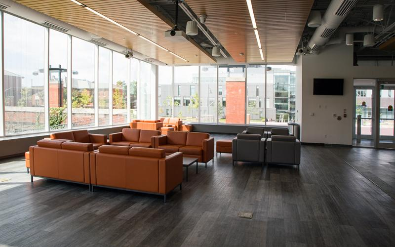G Commons communal seating
