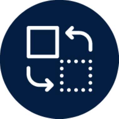 Program Changes Blue Icon