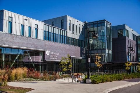 Exterior of Lakeshore Campus